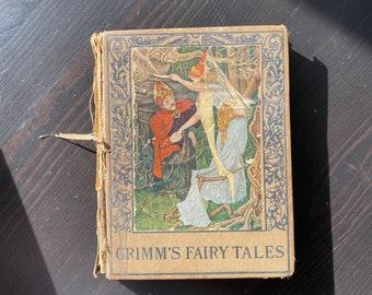 Antique - Grimm's Fairytales Book
