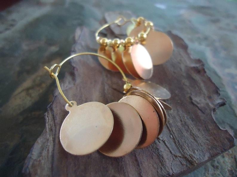 Gold Earrings /& SLIDES  gold earrings