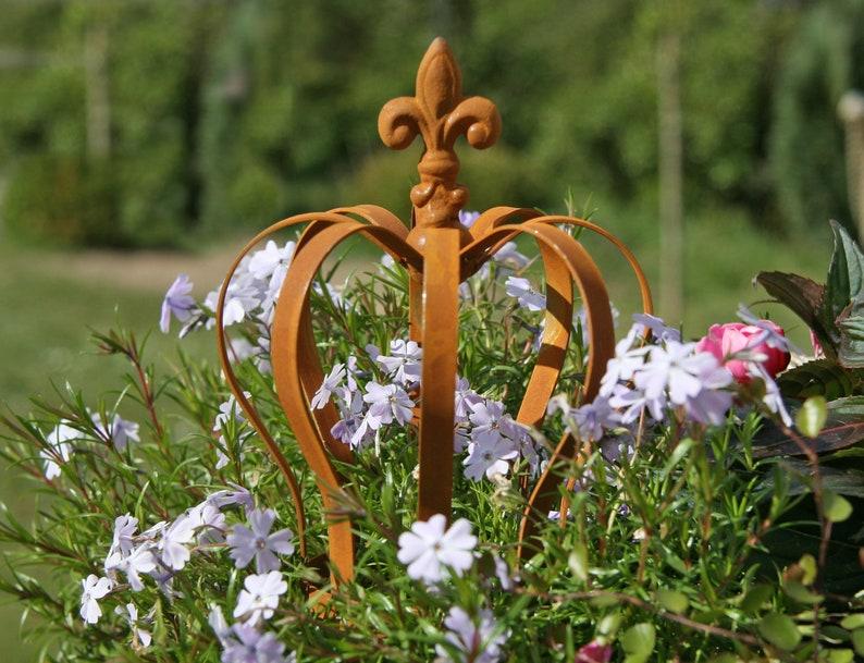 Edelrost Dekoschale mit Rand 40 cm Metall Pflanzschale Blumenschale