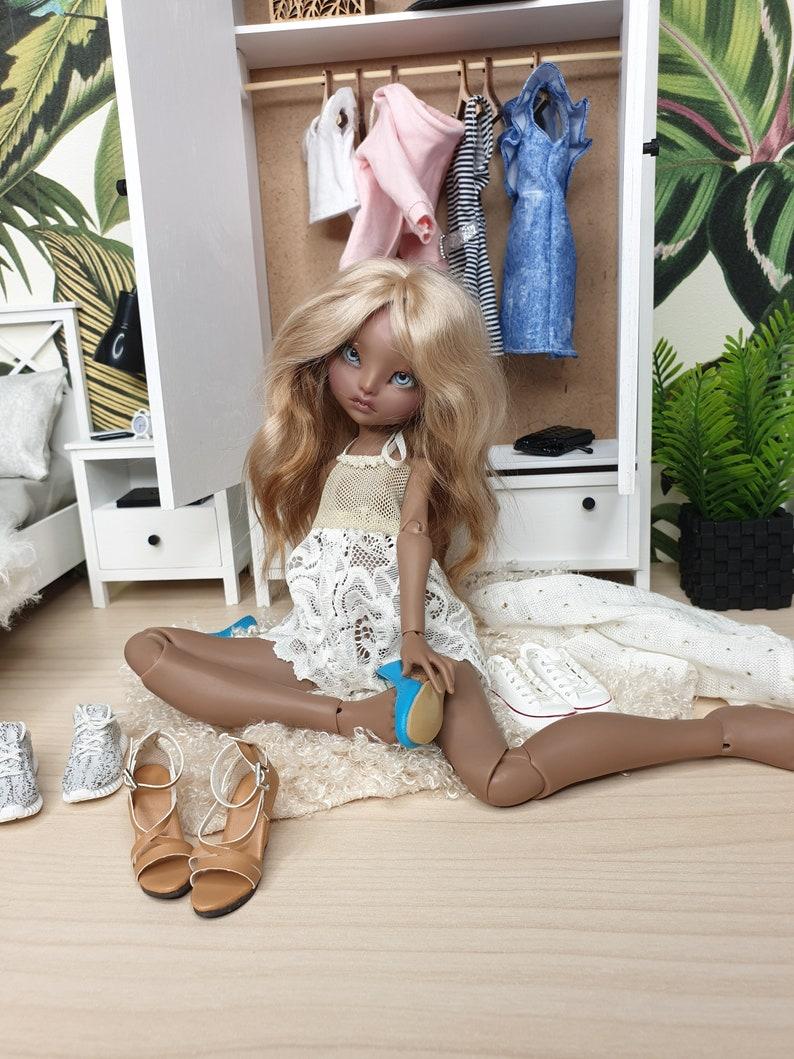 DIY kit miniature wardrobe doll closet 1/6 YoSD BJD | Etsy