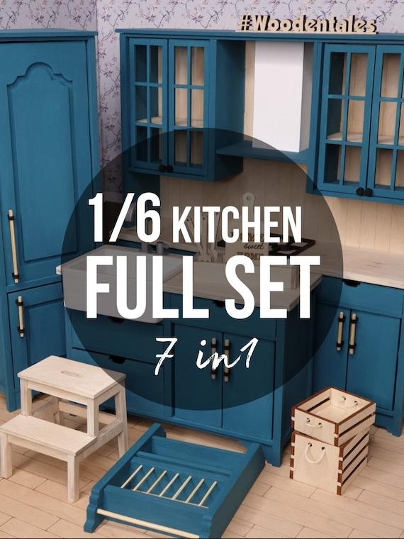 1 6 Full Set Kitchen 7 Items Diy Kit Special Price Listing Etsy