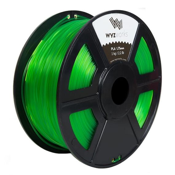 Premium 3D Printer Filament 1kg//2.2lb 1.75mm 3mm PLA ABS Wood RepRap MarkerBot