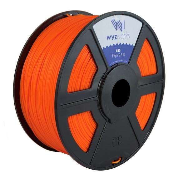 WYZwork 3D Printer Premium ABS Filament 3.0mm 1kg//2.2lb Translucent Blue