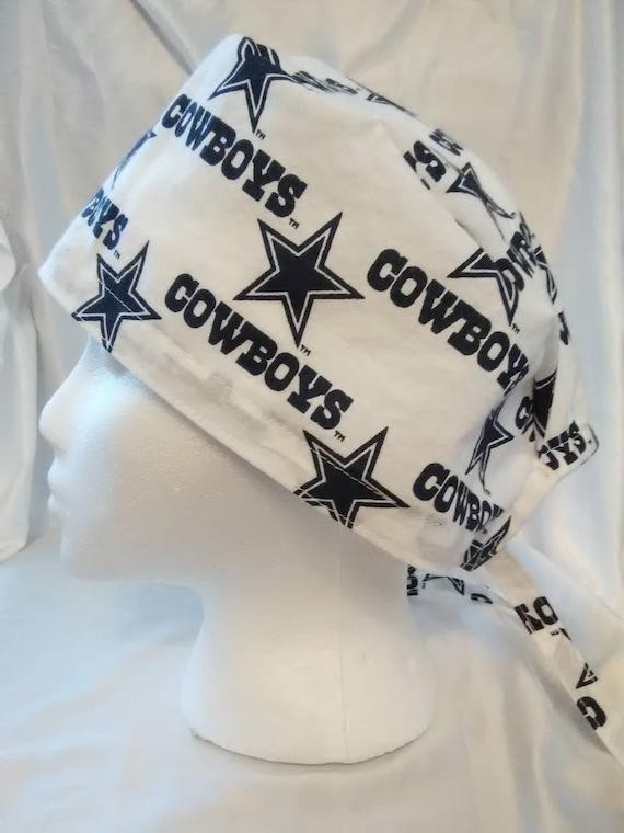 buy online 34c3e e23fc ... order dallas cowboys skull cap hat etsy 7f36f c3ca8