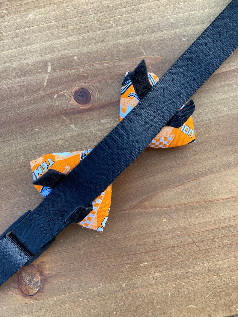 University of Tennessee Pet Collar Bow Tie Tennessee Volunteers Dog Bow Tie