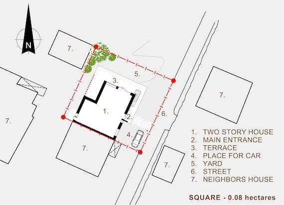 Modern House Plan Building Plans Blueprints /& Material List 2018 181 m #1
