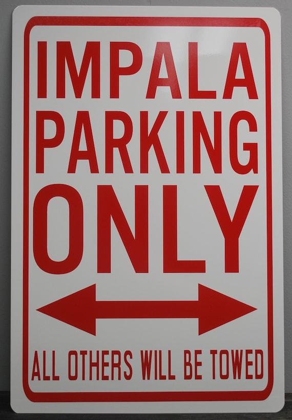 "6299 SS Impala 4/"" x 18/"" Novelty Street Sign Aluminum"