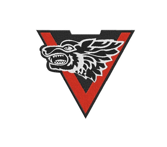 Embroidered Patch Iron Sew Applique Special Forces Army Russia Wolf Chevron New