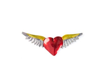Heart magnet • Wings