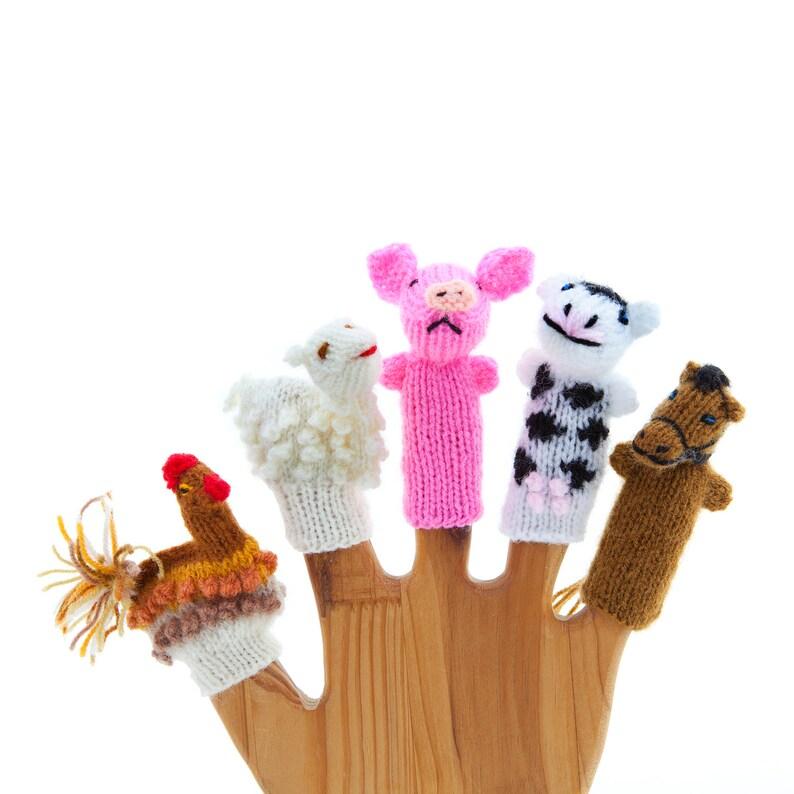 Finger puppets  Farm image 0