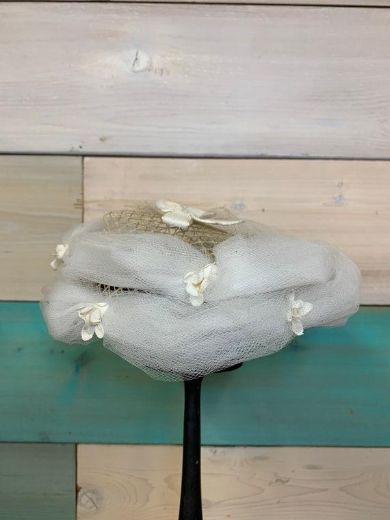 Handmade 50's Formal Hat/Fascinator