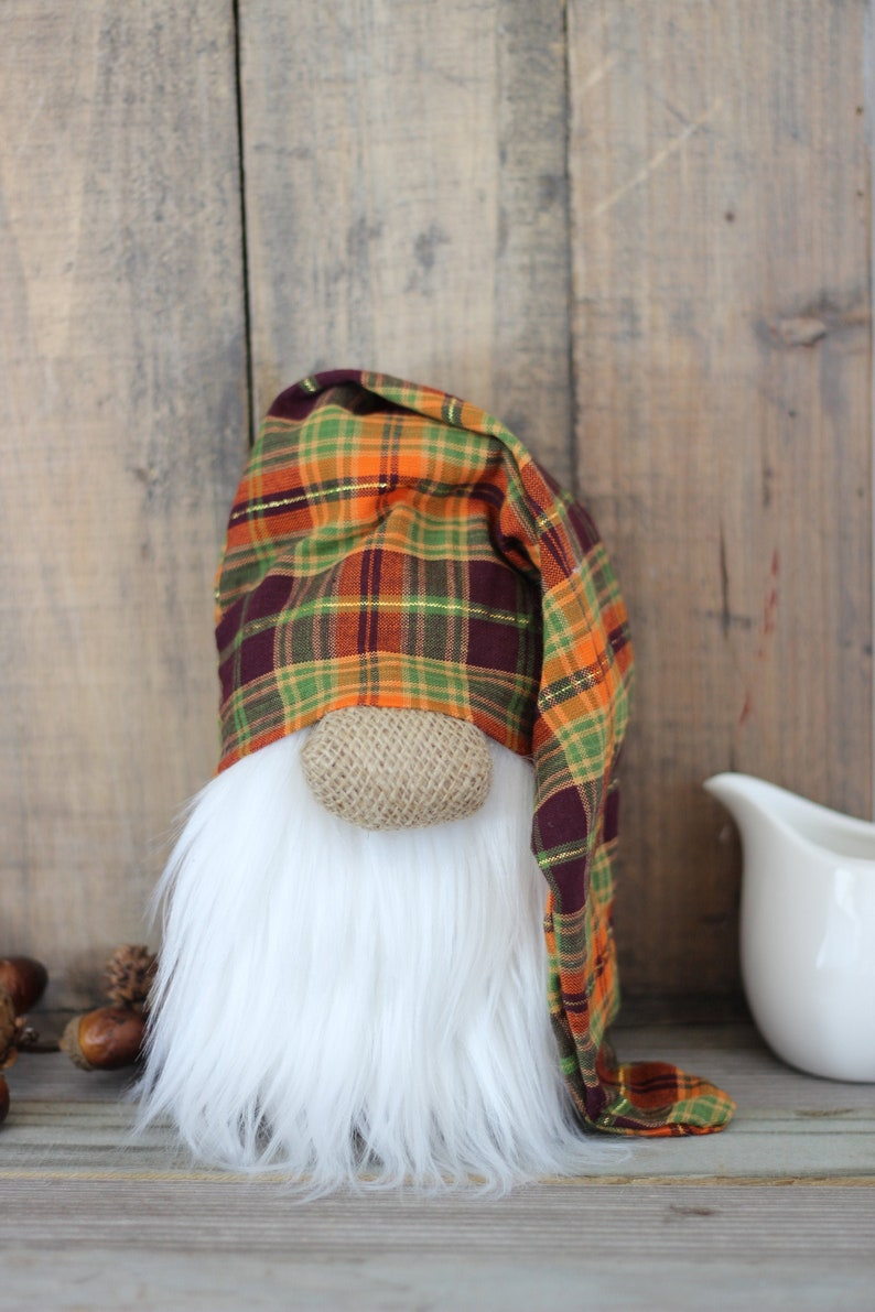 Fall Gnome Farmhouse Autumn Decor  Tiered Tray Accessory image 0