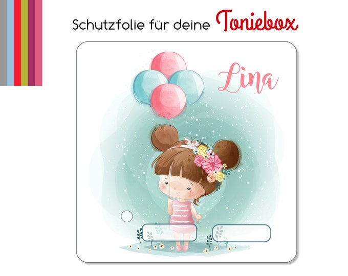 Protective film suitable for Toniebox, Little Girl