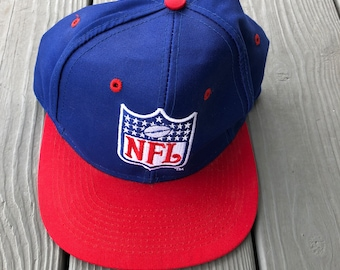 603177874f4 Vintage 1990 s NFL logo Sports Illustrated Logo 7 snapback hat w  original  tags--blue and red