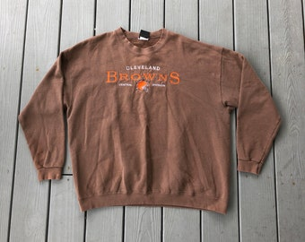 Cheap Cleveland browns sweatshirt   Etsy  free shipping
