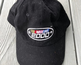 Nascar logo strap back lo profile dad hat--black 201b6ed0f2d2