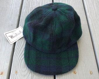 d437b5616 Vintage plaid hat   Etsy