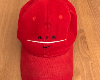 95842c6cca3 Vintage 90s Nike Air lo-profile dad hat