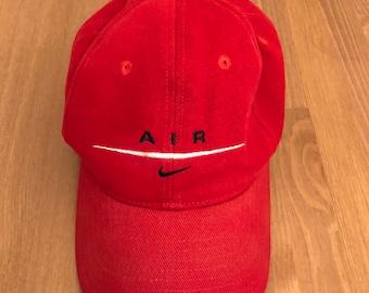 f7830e0c Vintage 90s Nike Air lo-profile dad hat