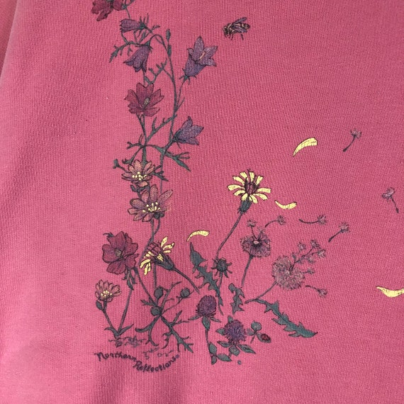 Original Vintage 1990s Flower Petal Sunflower Dan… - image 3