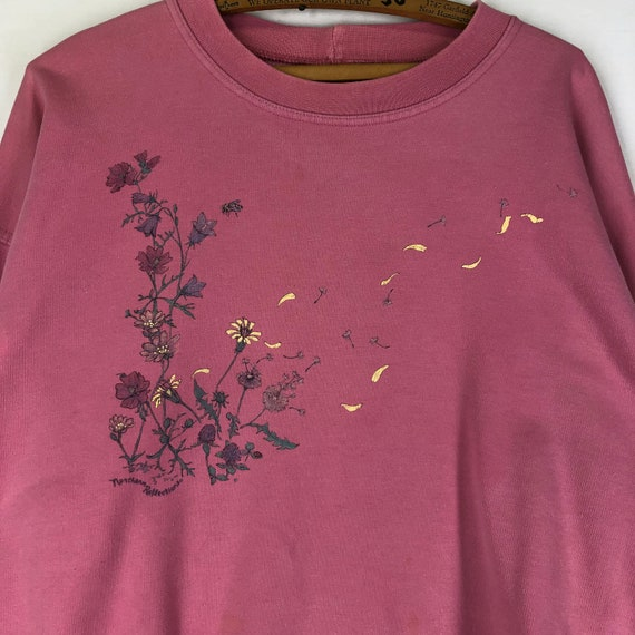 Original Vintage 1990s Flower Petal Sunflower Dan… - image 2