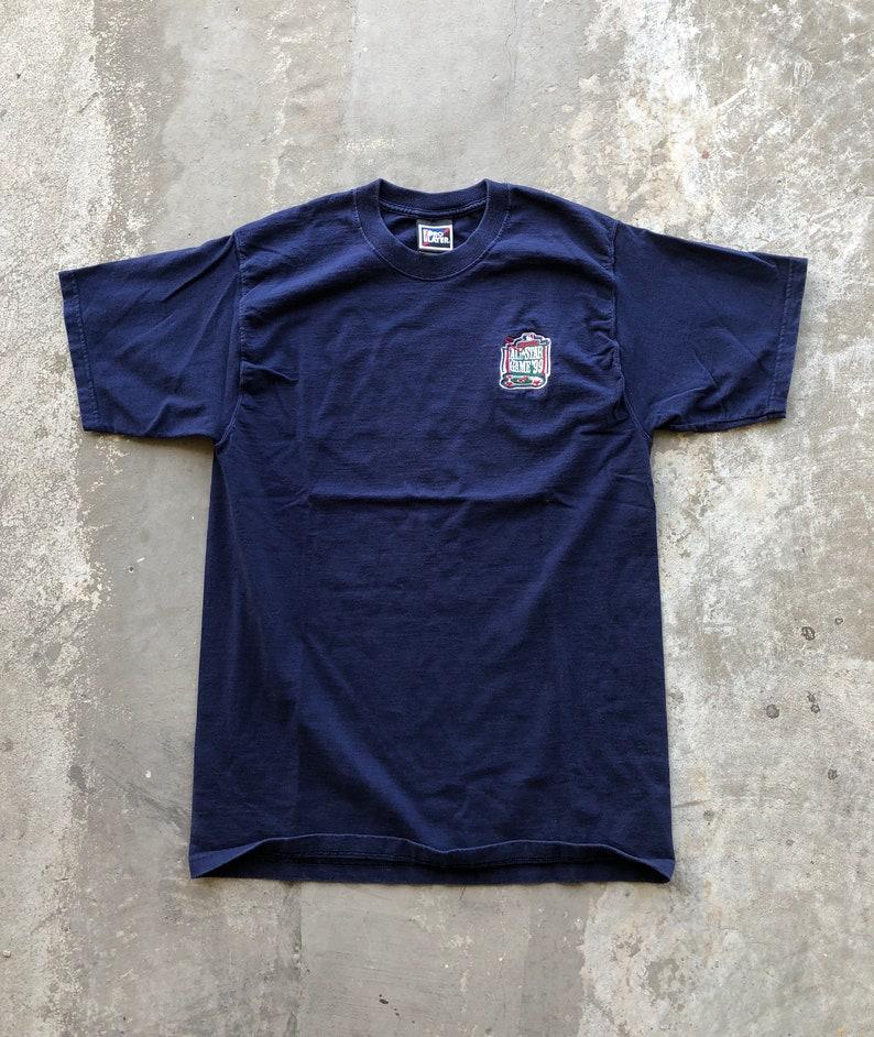 d70cff331 1999 MLB All-Start Game Boston Pro Player t-shirtshort
