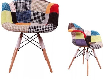 Patchwork Chairs X2