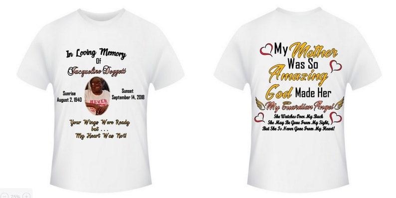 bc310383 Custom T-Shirt custom tank top custom t-shirts memory | Etsy