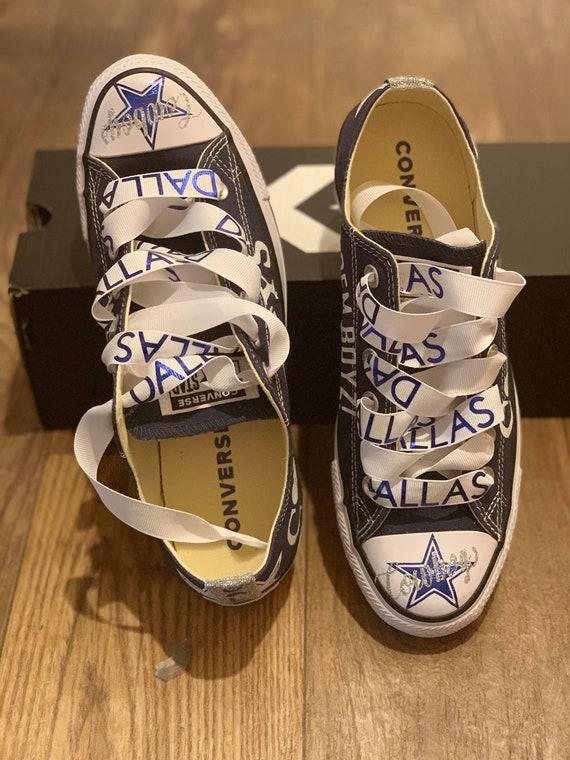 Cowboys sneakers custom sneakers design your own sneaker  4210798fe048