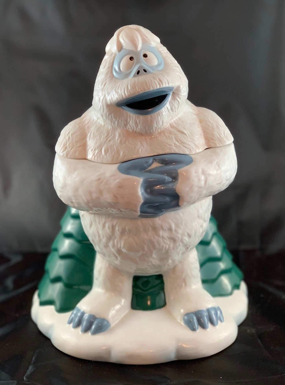 Enesco Bumble Abominable Snowman Cookie Jar