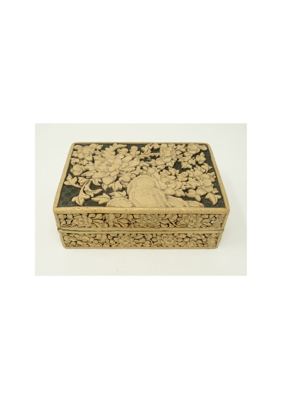Vintage Chinese Carved Box
