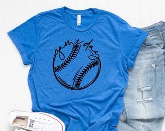 Game Day Tee / Baseball T Shirt