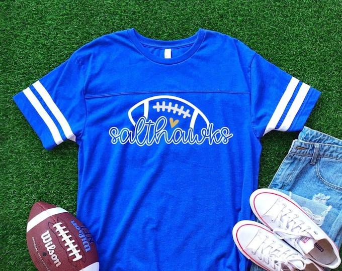 Hutchinson Salthawks Football Jersey Style Tee