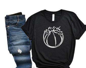 Game Day Tee / Basketball T Shirt