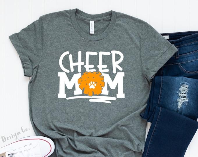 Cheer Mom / Customizable Cheer Mom Tee