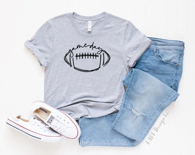 Game Day Tee / Football T Shirt
