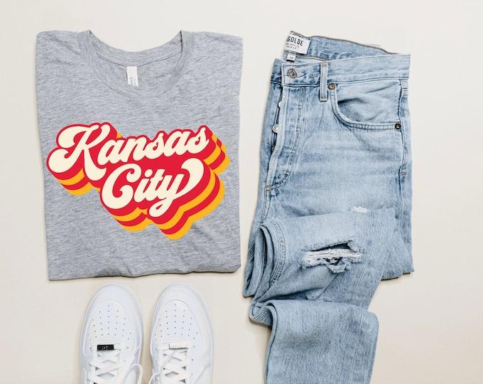 Kansas City Retro T Shirt