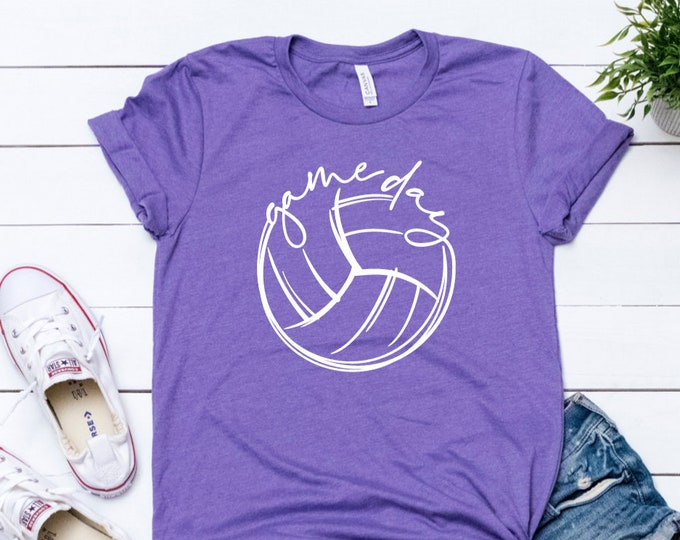 Game Day Tee / Volleyball T Shirt