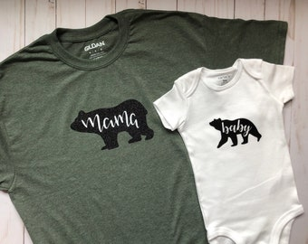 Mama and Baby Bear Bundle / Mama Bear / Baby Bear/ Mommy and Me