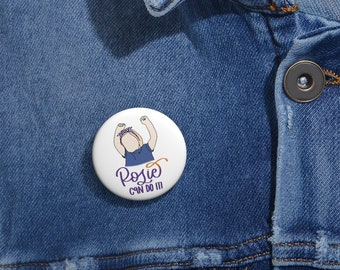 Rosie Can do it Lapel or bag button