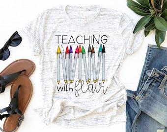 Teaching with Flaire  / Teacher TShirt