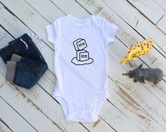 Ice Ice Baby / Baby Bodysuit / Baby Shower / Baby Girl / Baby Boy