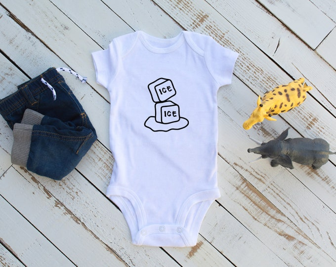 Ice Ice Baby / Baby Bodysuit / Baby Shower / Baby Girl / Baby Boy