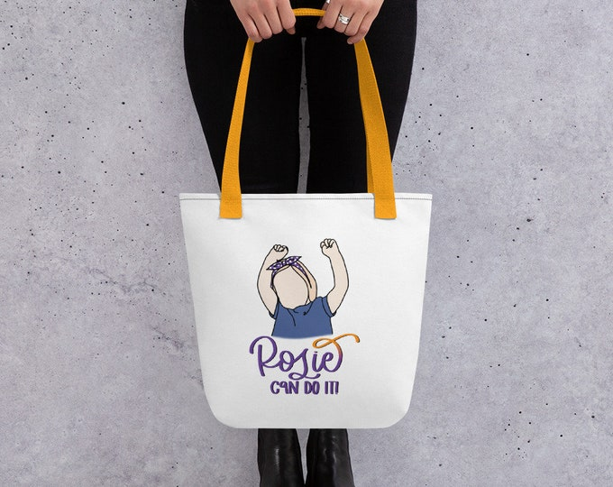 Rosie Can Do it Tote Bag