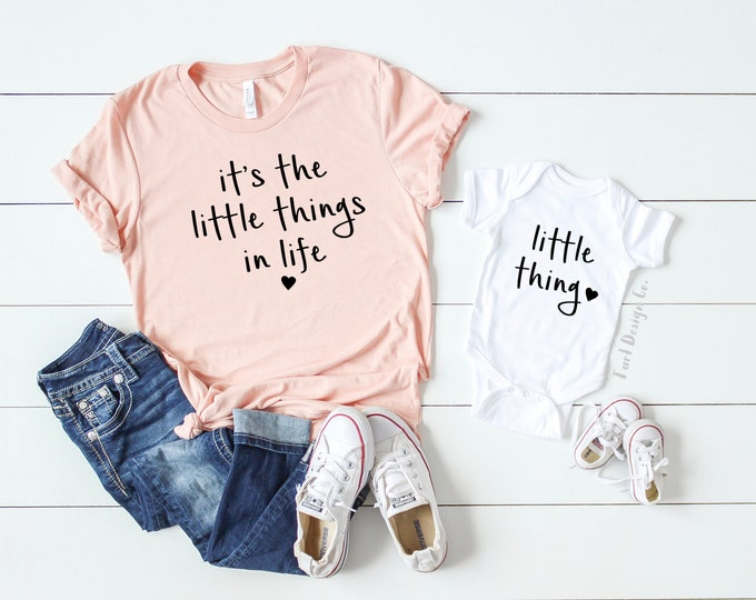 It's the Little Things in Life / Mommy and Me Set