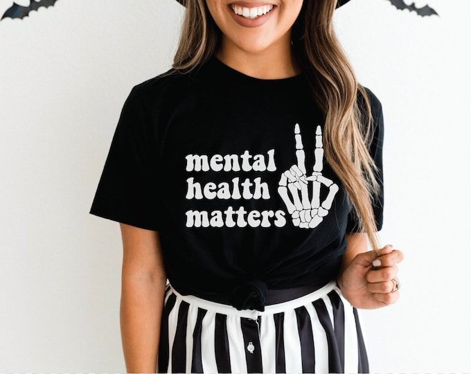 Mental Healther Matters Tee