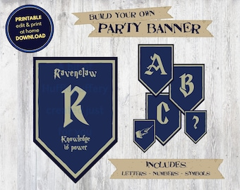picture about Ravenclaw Crest Printable identified as Ravenclaw printable Etsy