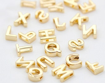 30pcs Raw Brass Old English Gothic Initial Letter Z Personalized Name Initials Jewelry Unique Initials Source Custom Factory Supplier