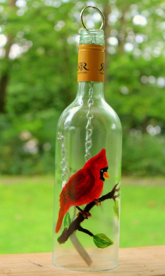 Handmade Cardinal Wind Chime