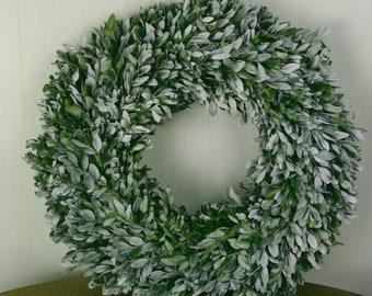 A Box Wreath - Shabby Chic